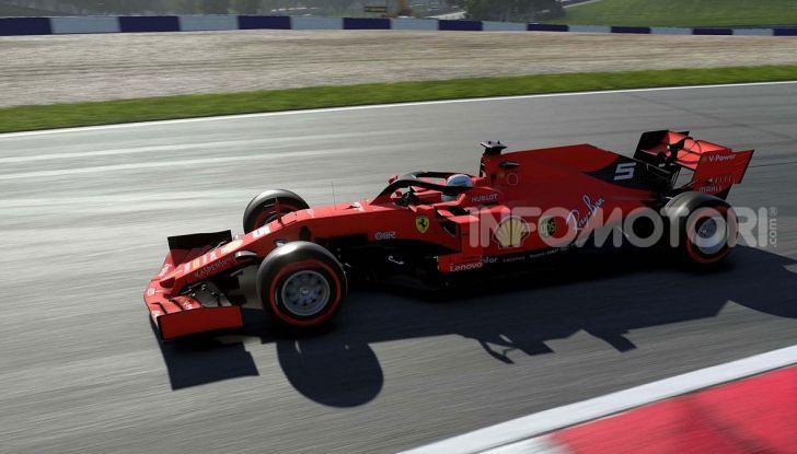F1 2019 game Sebastian Vettel Ferrari