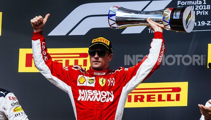 Kimi Raikkonen 2018 USA GP Austin Scuderia Ferrari