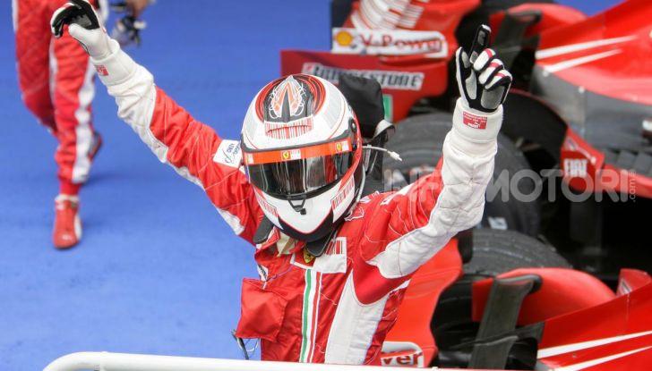 Kimi Raikkonen Campione del Mondo Ferrari F1 2007