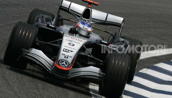 Kimi Raikkonen McLaren Mercedes F1 2005