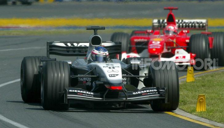 Kimi Raikkonen McLaren Mercedes F1 2003