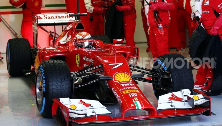Kimi Raikkonen Scuderia Ferrari F1 2014