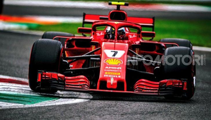 Kimi Raikkonen Scuderia Ferrari F1 2018 Monza