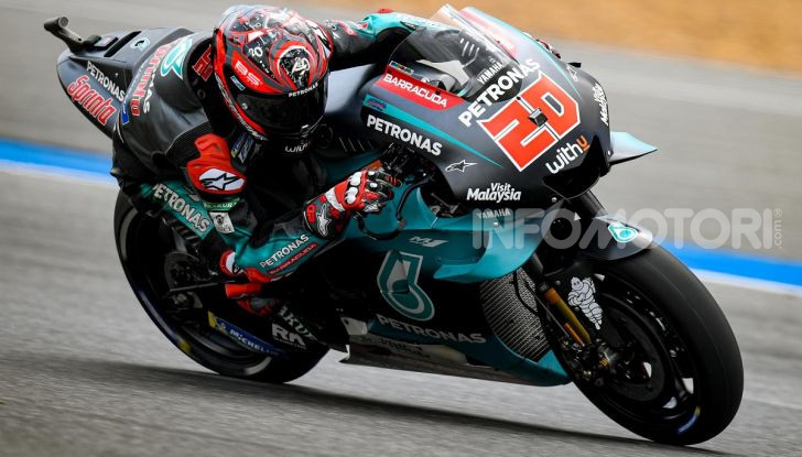 Fabio Quartararo Yamaha Petronas MotoGP Thailandia Buriram