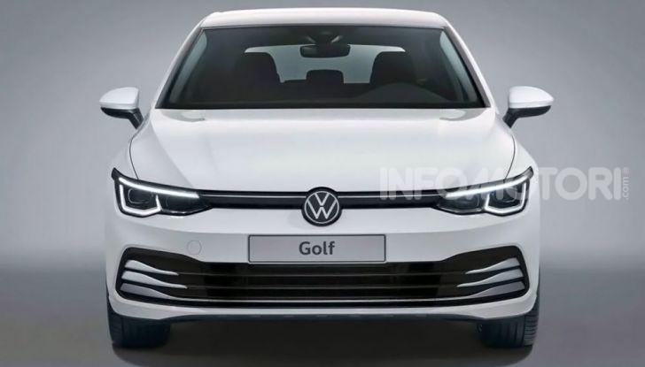 Volkswagen Golf 8 R: il mostro da 330 CV arriva a fine 2020 - Foto 1 di 15