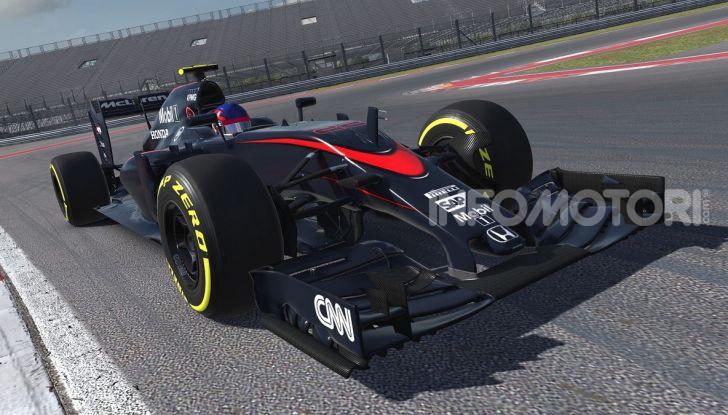 iRacing McLaren MP4-30 open wheel car
