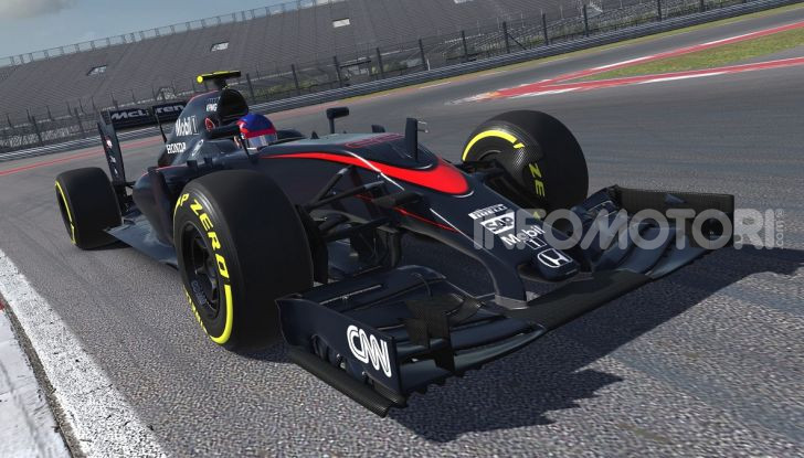 iRacing McLaren MP4-30 open wheel car