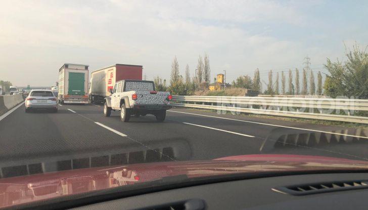 Jeep Gladiator arriva in Europa nel 2020 - Foto 4 di 8