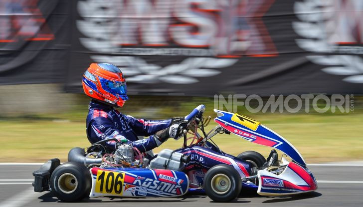 Kart categoria OK Junior Kosmic