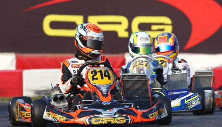 Kart categoria OK Junior CRG