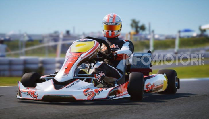 Kartkraft racing game karting
