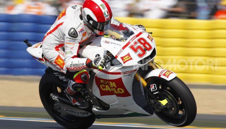 Marco Simoncelli MotoGP Honda Gresini