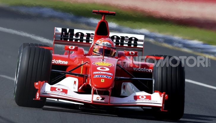Michael Schumacher Ferrari F2003GA