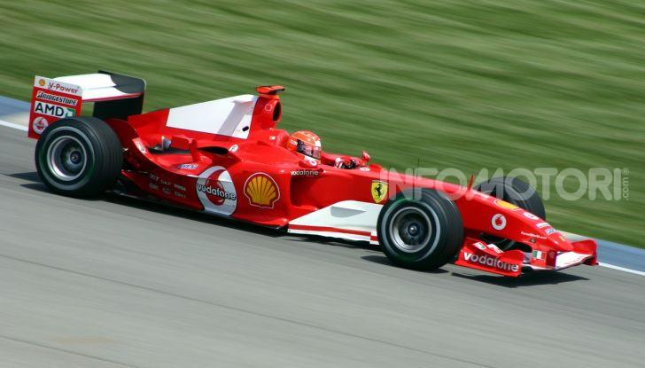 Michael Schumacher Ferrari F2004