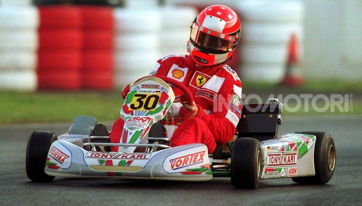 Michael Schumacher Karting 2001 Ferrari