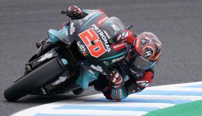 MotoGP 2019, Prove Libere in Giappone: Yamaha protagonista con Quartararo e Vinales