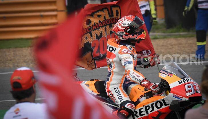 Marc Marquez Campione del Mondo MotoGP 2019 sei titoli MotoGP