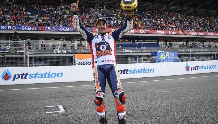 Marc Marquez Campione del Mondo MotoGP 2019 vince a Buriram