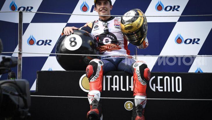 Marc Marquez Campione del Mondo MotoGP 2019 otto titoli