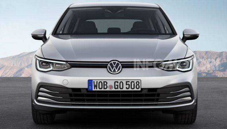 Volkswagen Golf 8 R: il mostro da 330 CV arriva a fine 2020 - Foto 8 di 15