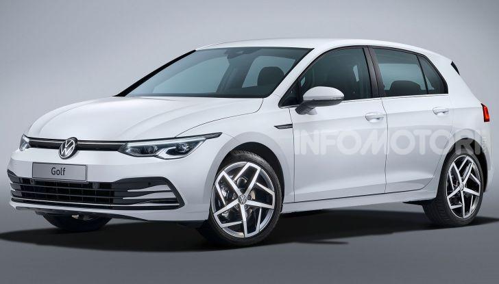 Volkswagen Golf 8 R: il mostro da 330 CV arriva a fine 2020 - Foto 9 di 15