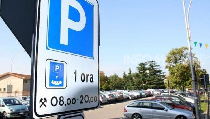 parcheggio disco orario a pagamento