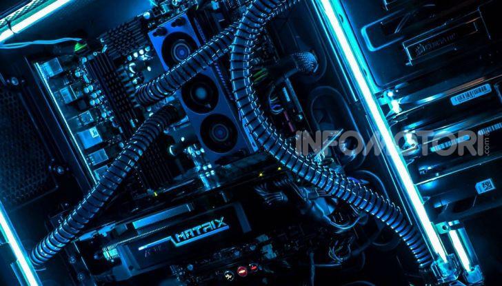 Gaming PC scheda video processore