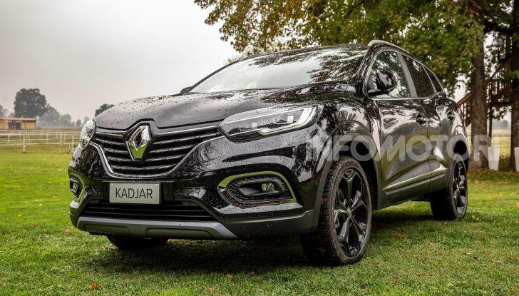 Renault Kadjar 4x4 Black Edition, vista anteriore