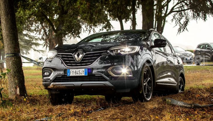 Renault Kadjar 4x4 Black Edition, cerchi total black