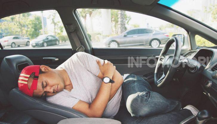 Riposare in macchina