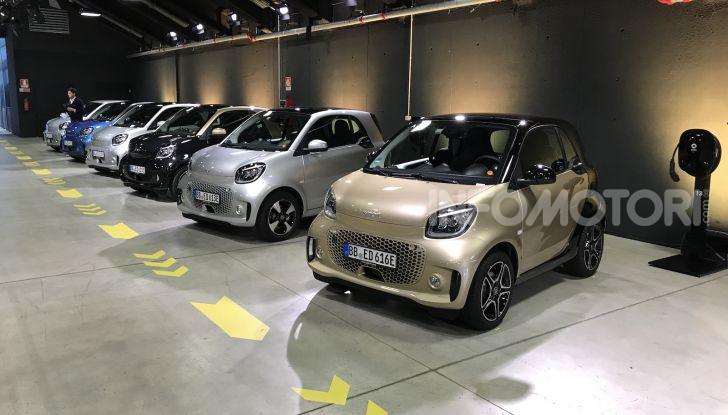 Nuove smart fortwo EQ e forfour EQ: le citycar ora solo elettriche - Foto 9 di 10