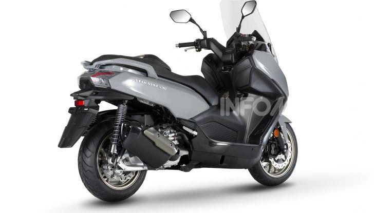 SYM: Tutte le novità moto e scooter presentate ad EICMA 2019 - Foto 32 di 68
