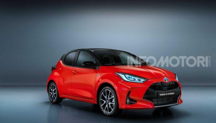 Nuova Toyota Yaris 2020, dettagli e specifiche della quarta generazione - Foto 1 di 17