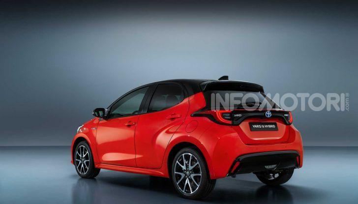 Nuova Toyota Yaris 2020, dettagli e specifiche della quarta generazione - Foto 3 di 17