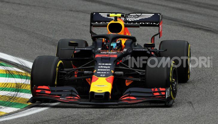 F1 2019, GP del Brasile: Max Verstappen firma la seconda pole position in carriera ad Interlagos - Foto 4 di 12
