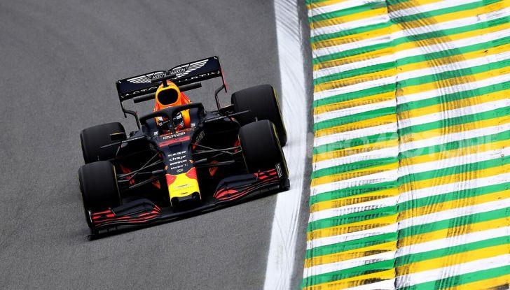 F1 2019, GP del Brasile: Max Verstappen firma la seconda pole position in carriera ad Interlagos - Foto 3 di 12