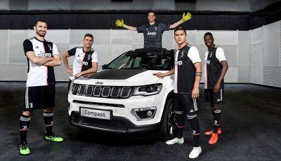 Jeep Compass 122, serie speciale che celebra la Juventus