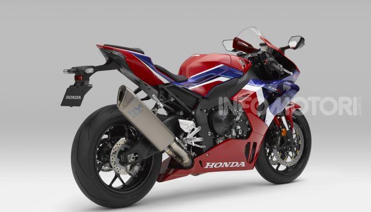 Honda CBR1000RR-R 2020: la nuova Superbike della Casa dell'Ala, anche in versione SP - Foto 7 di 42