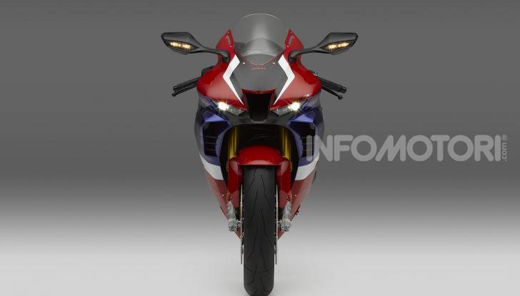 Honda CBR1000RR-R 2020: la nuova Superbike della Casa dell'Ala, anche in versione SP - Foto 8 di 42