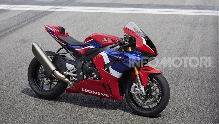 Honda CBR1000RR-R 2020: la nuova Superbike della Casa dell'Ala, anche in versione SP - Foto 3 di 42