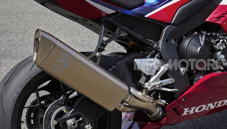 Honda CBR1000RR-R 2020: la nuova Superbike della Casa dell'Ala, anche in versione SP - Foto 16 di 42