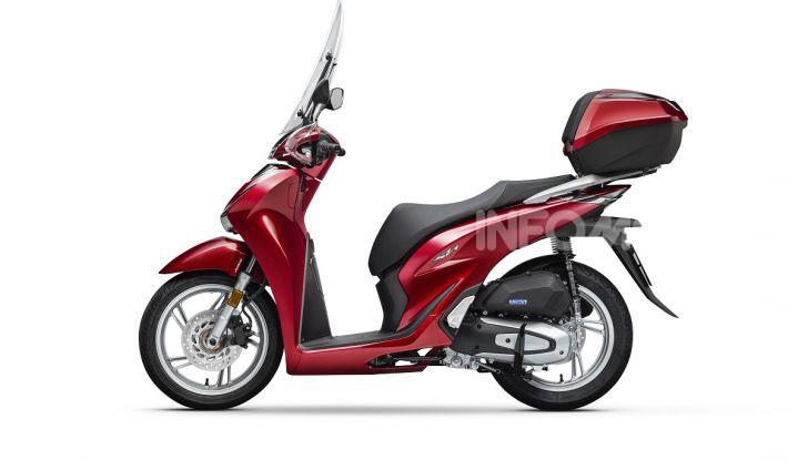 Honda SH125/150i 2020: lo scooter best-seller di vendite in Europa si rifà il look - Foto 4 di 11