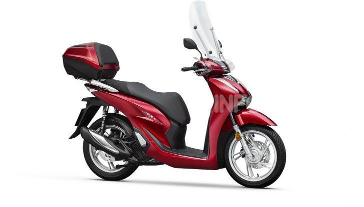 Honda SH125/150i 2020: lo scooter best-seller di vendite in Europa si rifà il look - Foto 5 di 11