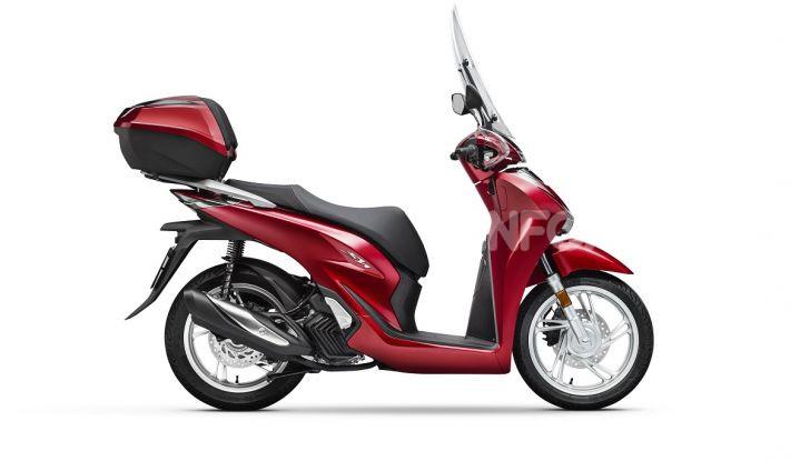Honda SH125/150i 2020: lo scooter best-seller di vendite in Europa si rifà il look - Foto 6 di 11