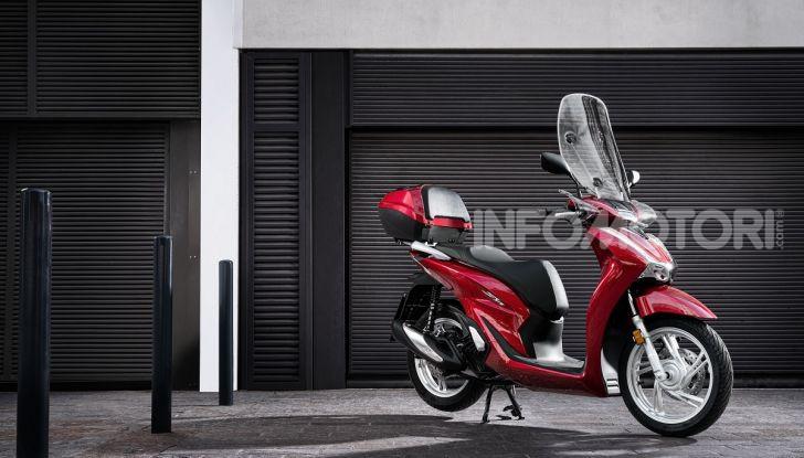 Honda SH125/150i 2020: lo scooter best-seller di vendite in Europa si rifà il look - Foto 1 di 11