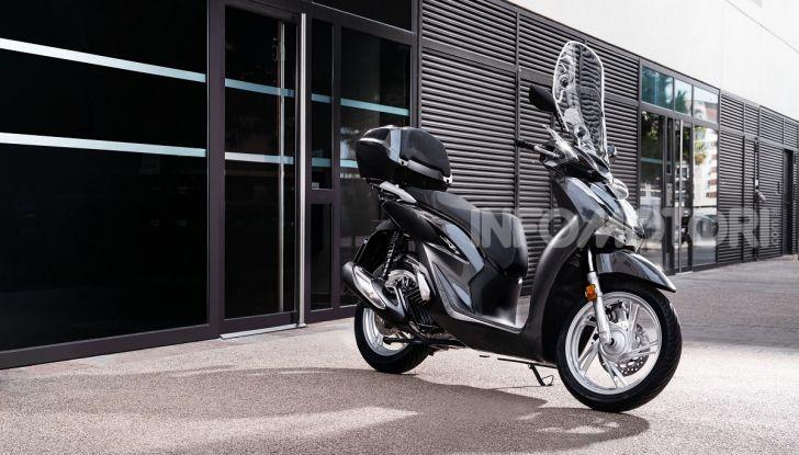 Honda SH125/150i 2020: lo scooter best-seller di vendite in Europa si rifà il look - Foto 3 di 11