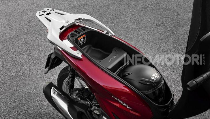 Honda SH125/150i 2020: lo scooter best-seller di vendite in Europa si rifà il look - Foto 9 di 11