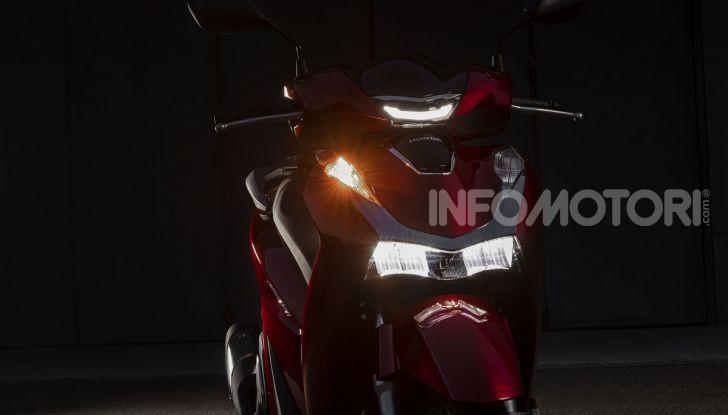 Honda SH125/150i 2020: lo scooter best-seller di vendite in Europa si rifà il look - Foto 7 di 11