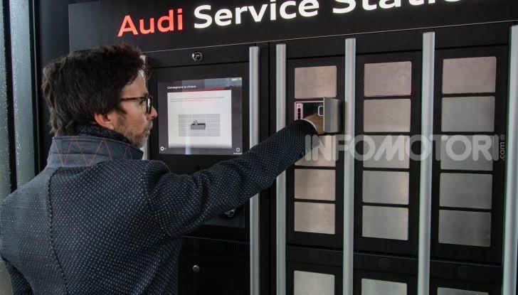 Audi Service Station in aeroporto: risparmi tempo ed il costo del parcheggio - Foto 7 di 9