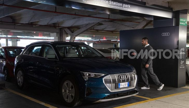 Audi Service Station in aeroporto: risparmi tempo ed il costo del parcheggio - Foto 8 di 9